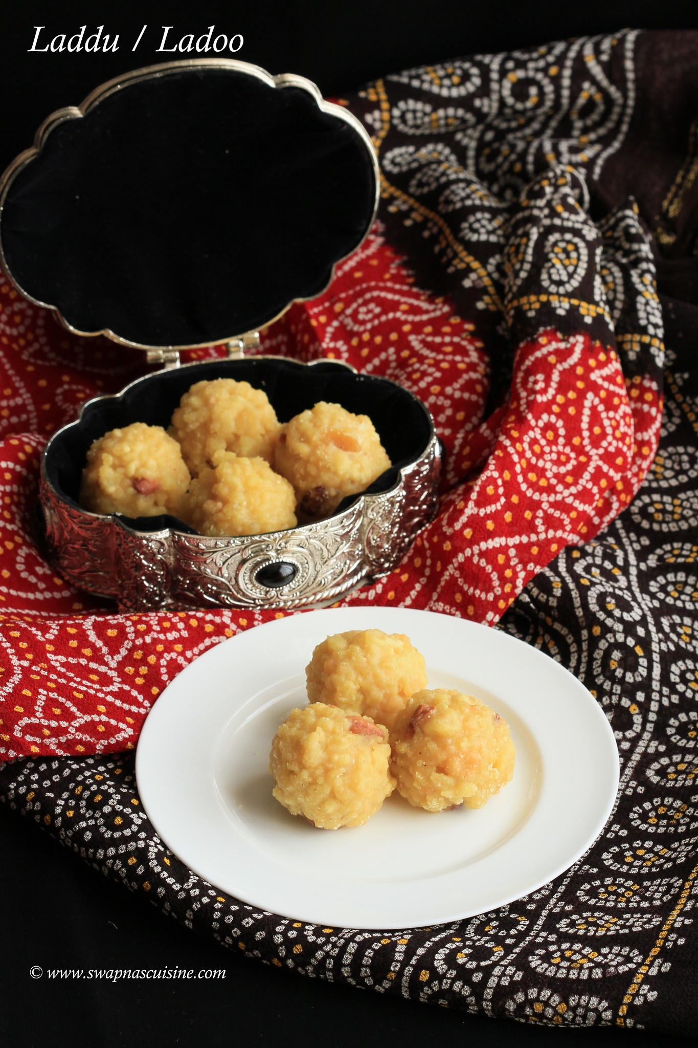 Homemade Ladoo recipe