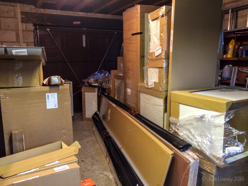Our new kitchen has arrived!