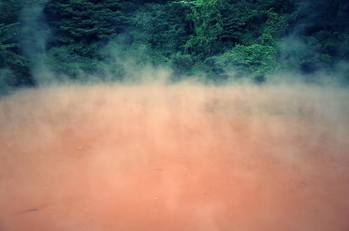 別府 地獄めぐり - 血の池地獄