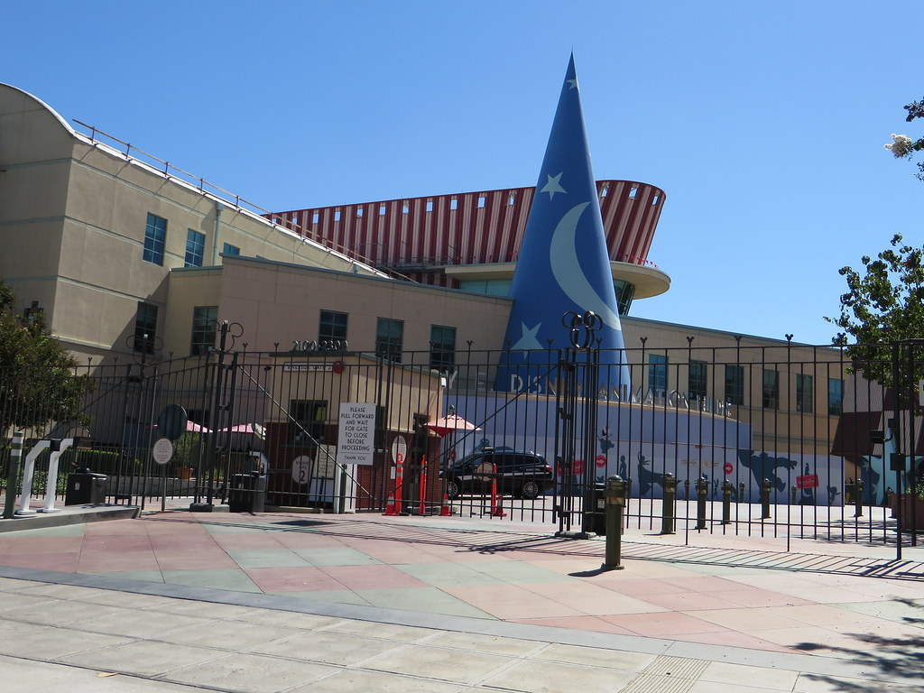 Roy E Disney Animation Building Walt Disney Studios Bur Flickr