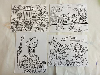 Halloween Coloring pages for Kids Ball at Arts Center | by betolung
