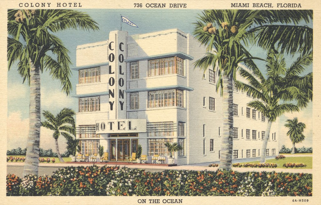 Colony Hotel - Miami Beach, Florida