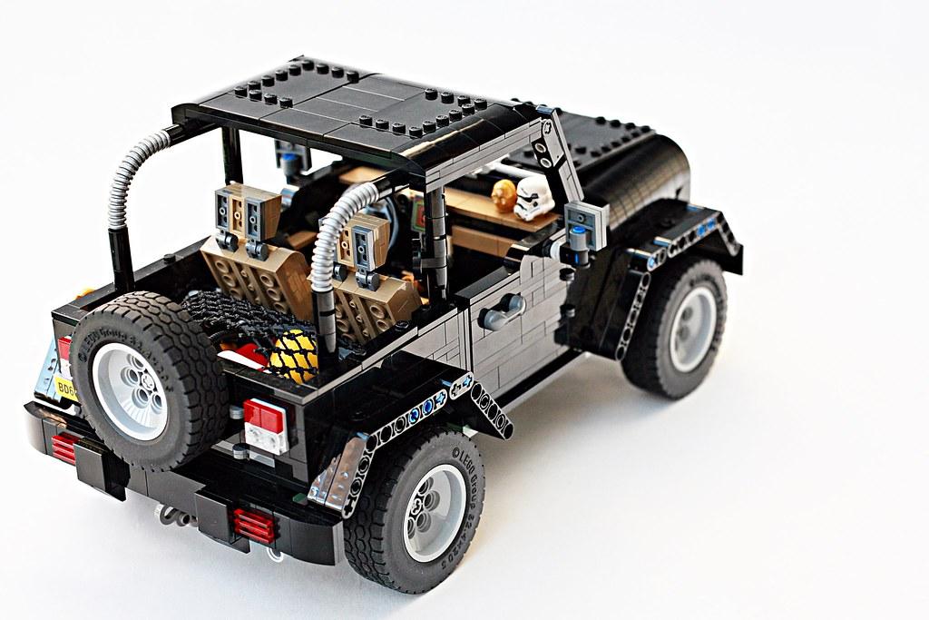 Jeep Wrangler Rubicon Lego MOC