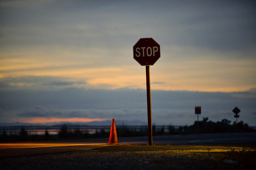 150518-stop-sign-caution-cone.jpg | by r.nial.bradshaw