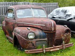 Rusty 1941 One Eyed Ford Coupe | by J Wells S