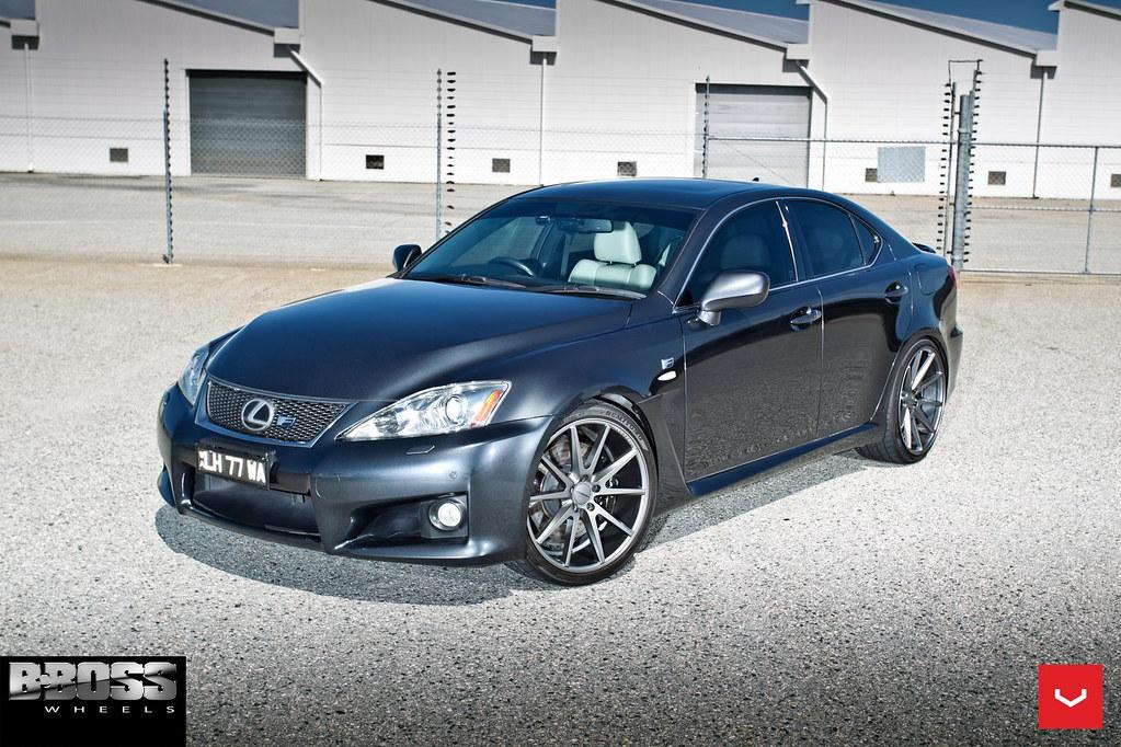 Lexus Isf Vfs 1 Graphite C Vossen Wheels 2015 10 Flickr
