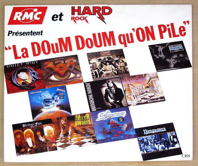 "LA DOUM DOUM QU'UN PILE SAMPLE LP RMC ET HARD ROCK PRESENTENT 12"" LP VINYL"