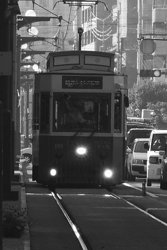 Tramcars at Kagoshima on OCT 24, 2015 (7)