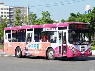 臺北客運 926 383-FG 20130827