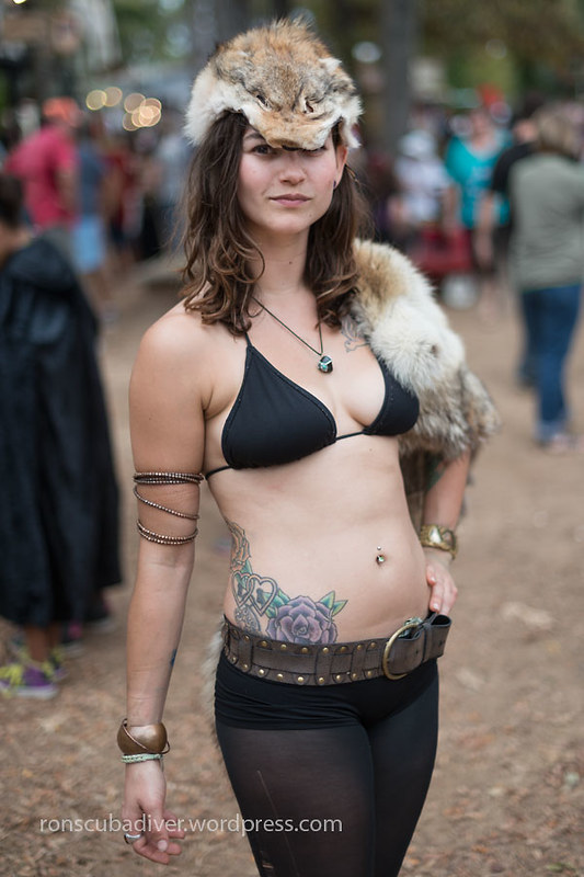 Barbarian Girl, Bikini Top | by Ron Scubadiver's Wild Life