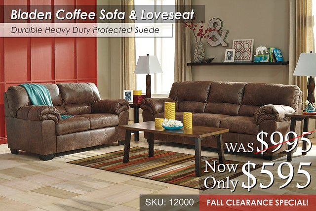 Bladen Coffee Living Set FALL