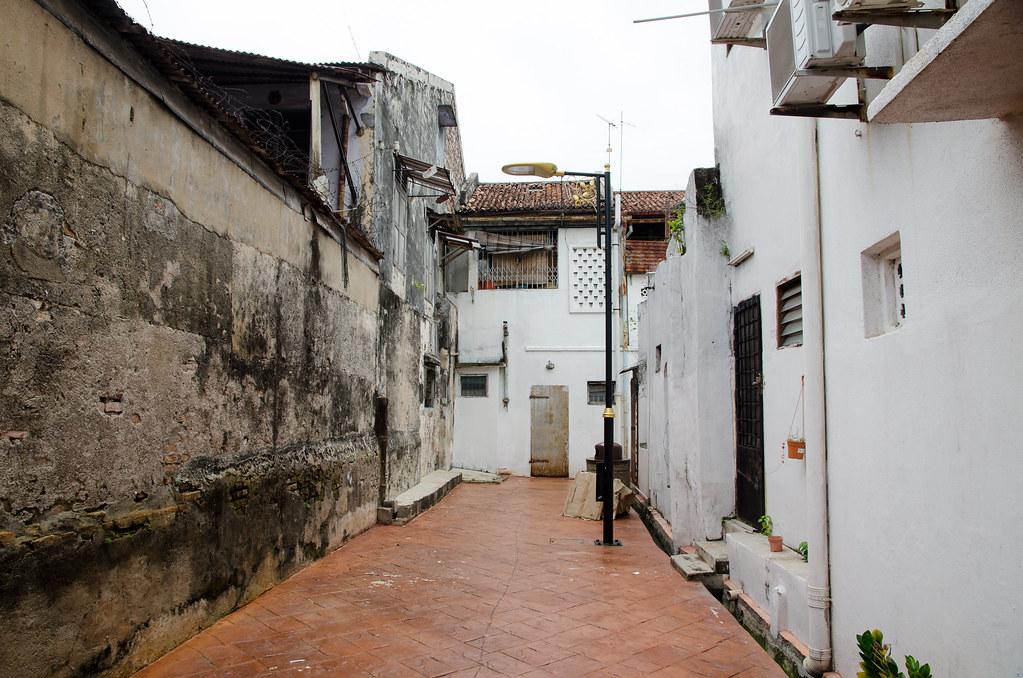 Backstreet of Melaka' Jonker Street.
