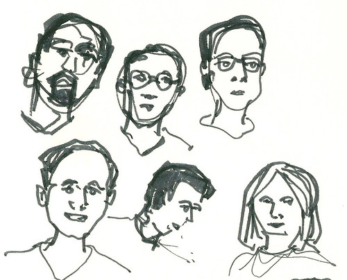 inktober faces1