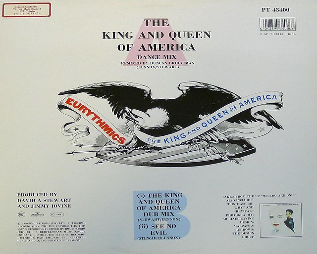Eurythmics The King and Queen of America