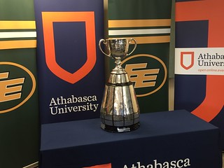 The Grey Cup visits AU | by Athabasca University