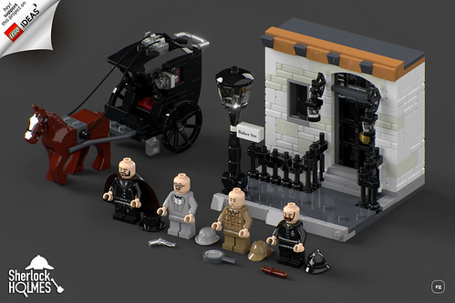 The Adventures Of Sherlock Holmes Support Our Lego Ideas