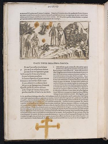 Dante Alighieri: La Commedia: Copperplate engraving