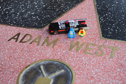 Adam West's Star on the Hollywood Walk of Fame | by SPARKART!