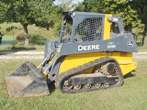 2014 John Deere 319E diesel compact track loader | by thornhill3
