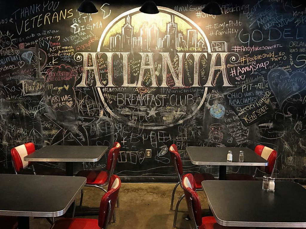One more southern breakfast before I go. #chalkboardart #goodeats