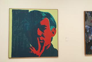 SFMoMA - Andy Warhol Self Portrait
