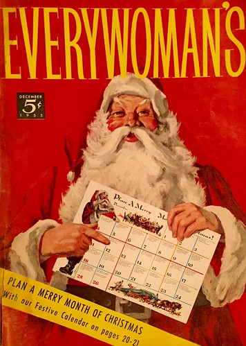"""Everywoman's"" magazine cover 