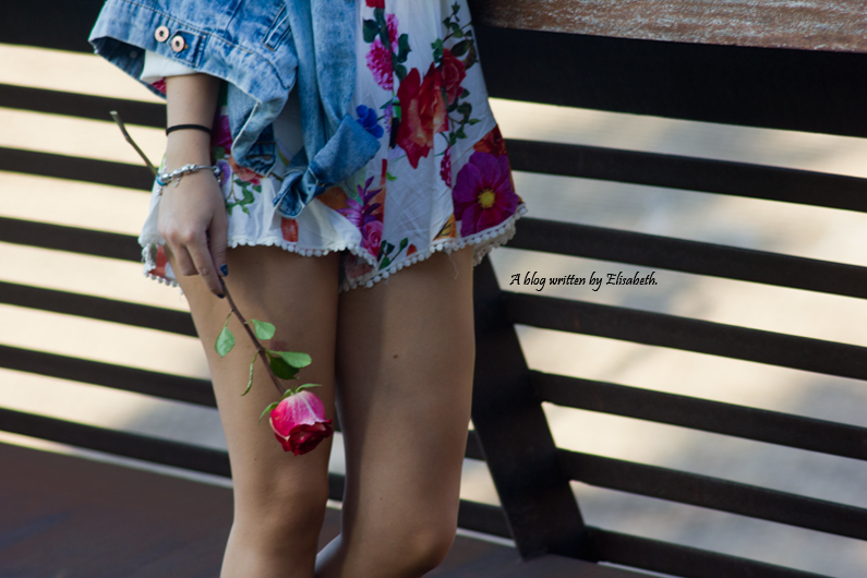 kimono floral chaqueta vaquera denim top shana burgundy oxfords primark pull and bear inditex HEELSANDROSES(9)