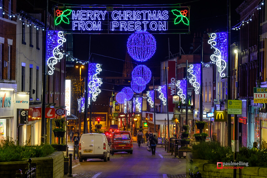 Preston Christmas Lights | Paul Melling | Flickr