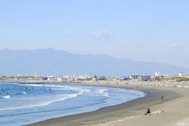 湘南海岸 片瀨西濱海水浴場