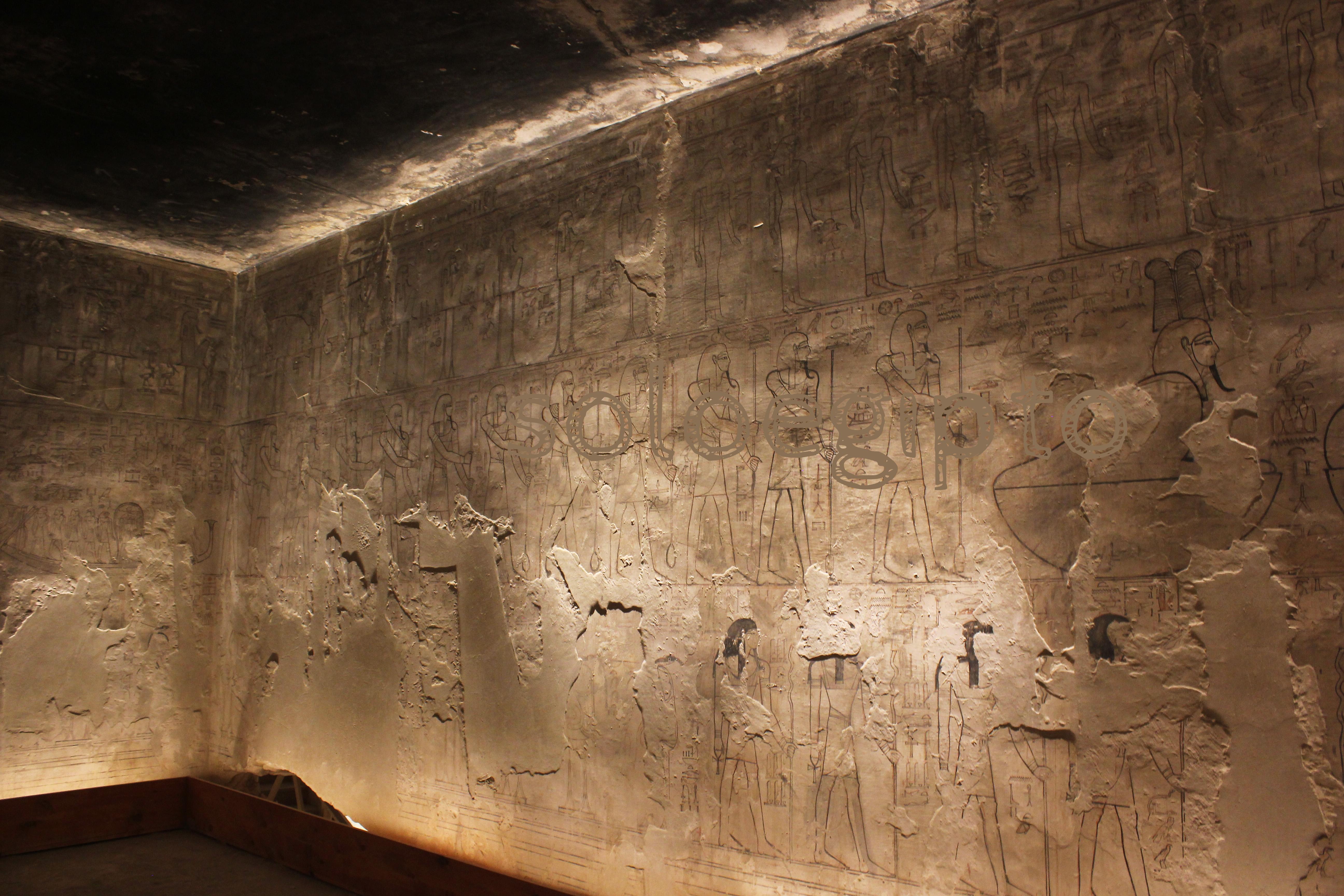 Tumba de Seti I , Sethi I , Luxor Egipto , Egypt. 27-05-2016 .