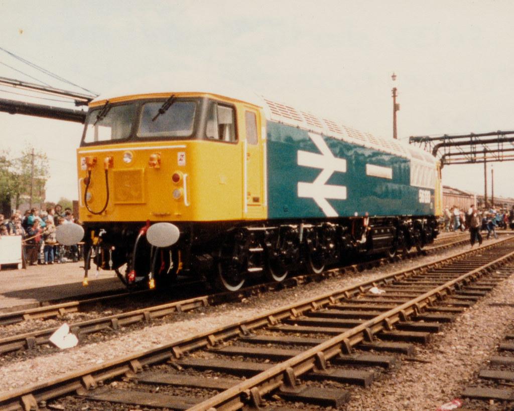 56133 Prior To Naming Crewe Locomotive Works
