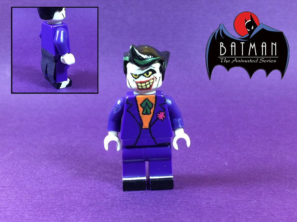 Custom lego batman the animated series the joker flickr custom lego batman the animated series the joker by jerdfigs voltagebd Choice Image