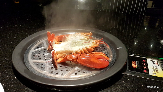 Canada PEI Lobster on the steamer