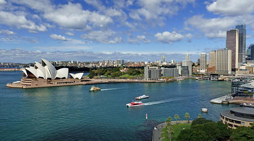 Sydney and its  Harbour. | by Bernard Spragg