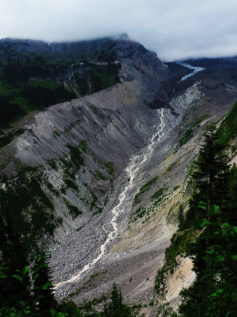 Nisqually Glacier, Mount Rainier National Park, WA, USA