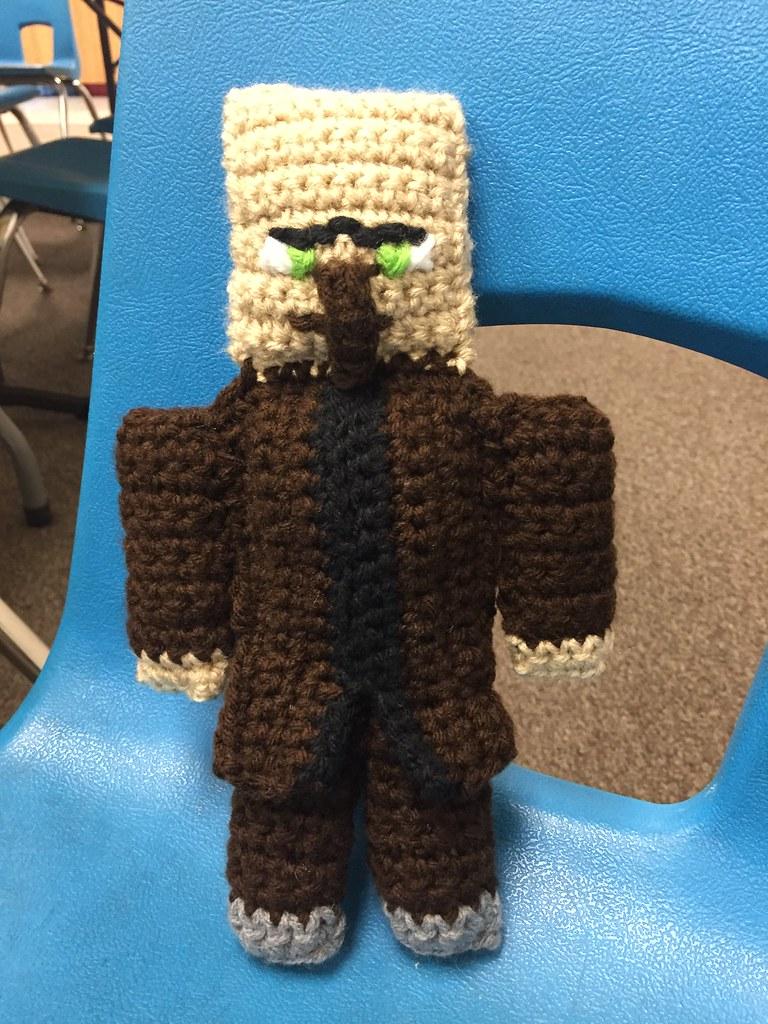 Crochet Minecraft Villager Yolanda Chavez Flickr