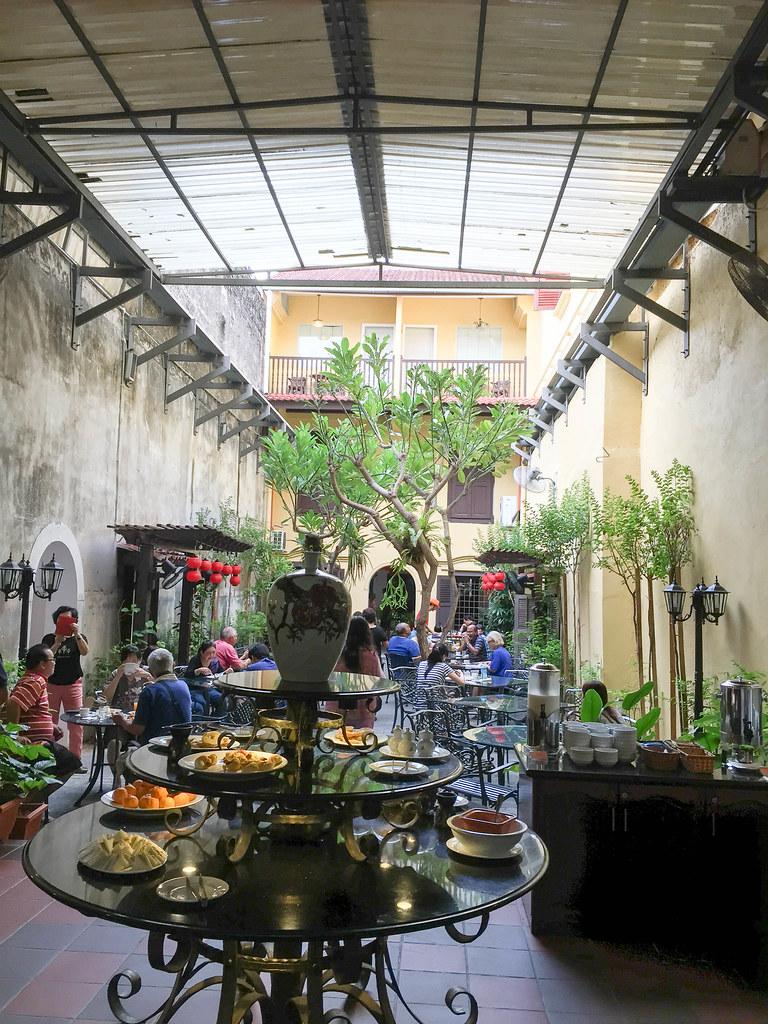 Hotel Puri Melaka's breakfast place
