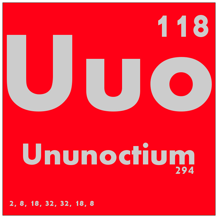 118 ununoctium periodic table of elements watch study gu flickr 118 ununoctium periodic table of elements by science activism urtaz Images
