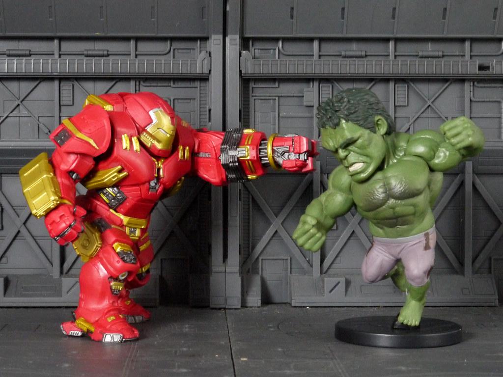 hulk buster vs hulk 紅色死神 flickr