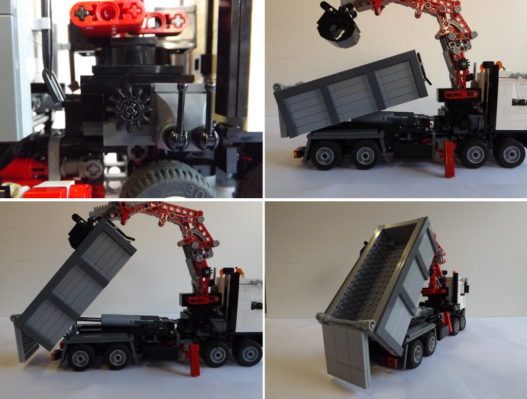 Lego Mercedes Benz Arocs Grab Tipper Truck This Photo Show Flickr