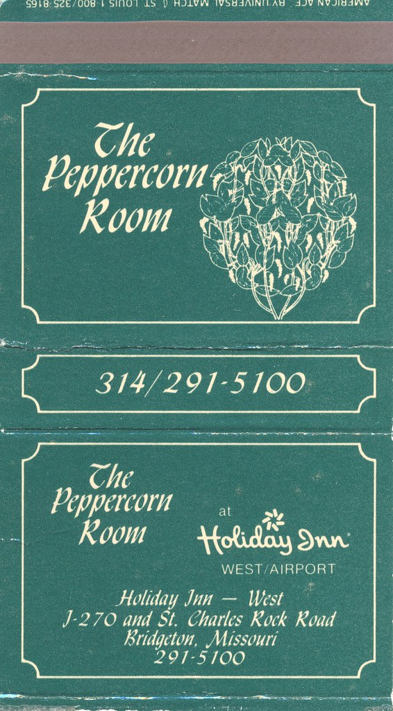 Holiday Inn-West  The Peppercorn Room - Bridgeton, Missouri