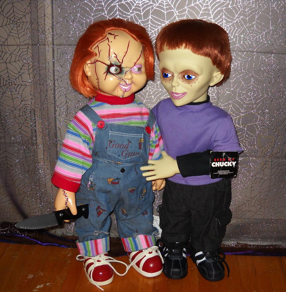 24 Chucky Dolls Animated Chucky Doll Tiffany Ray Doll Flickr