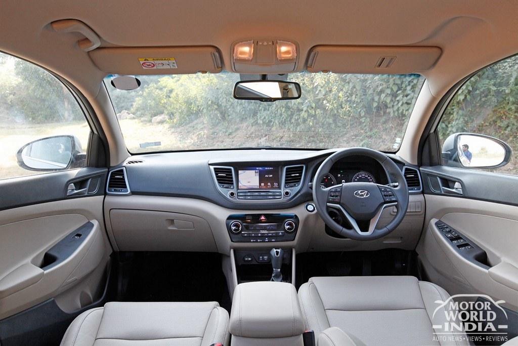 ... 2016 Hyundai Tucson Interior Dashboard (17) | By Motorworldindia