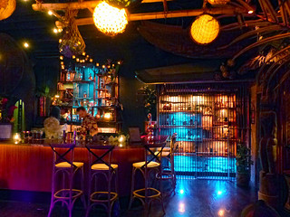 Bar and rum jail at Pacific Seas | by The Tiki Chick