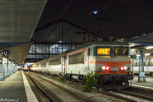Bb7401 train paris austerlitz paris massena alan for Train tours paris austerlitz