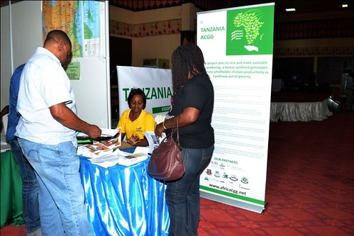NZUA Farms Enterprise representative shares and sells booklets on chicken management