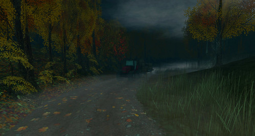 spooky hayride botanical dirt road at havenhollow iii