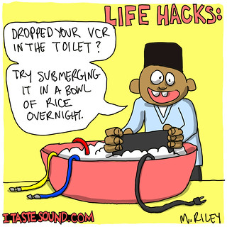 life_hack | by Mike Riley