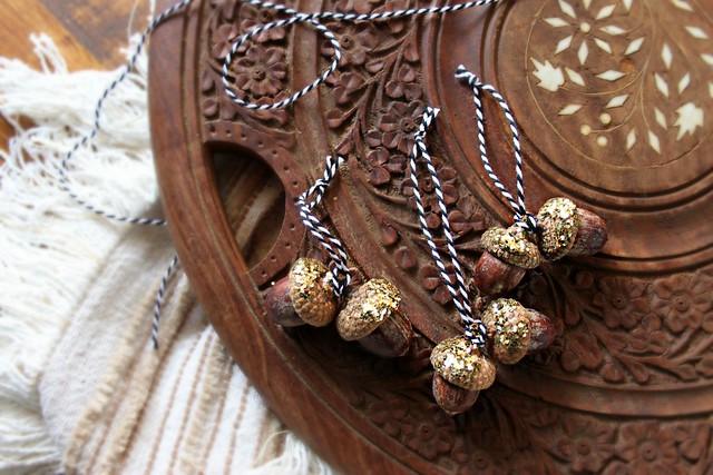Autumn Crafts -- Acorn Ornaments