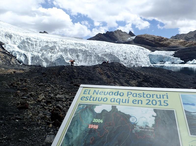 Los efectos del cambio climático en Pastoruri.